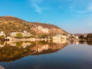 Lake in Bundi, Rajasthan