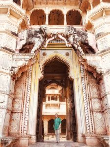Mariellen Ward in Bundi on on Intrepid Travel Classic Rajasthan tour