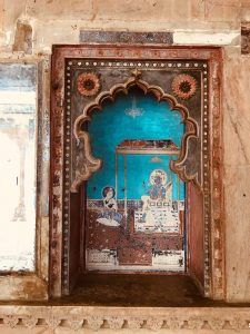 Painting at Bundi Palace, Rajasthan