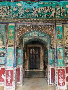 Paintings at Bundi Palace, Rajasthan