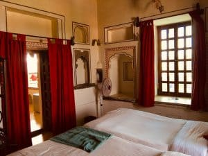 Room at Castle Bijaipur, Rajasthan