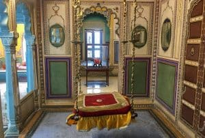 Udaipur City Palace room, Rajasthan, India