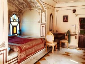 Heritage room at Madhogarh Fort, Rajasthan