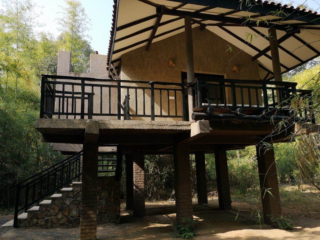 Villa on stilts at Kings Lodge, Bandhavgarh