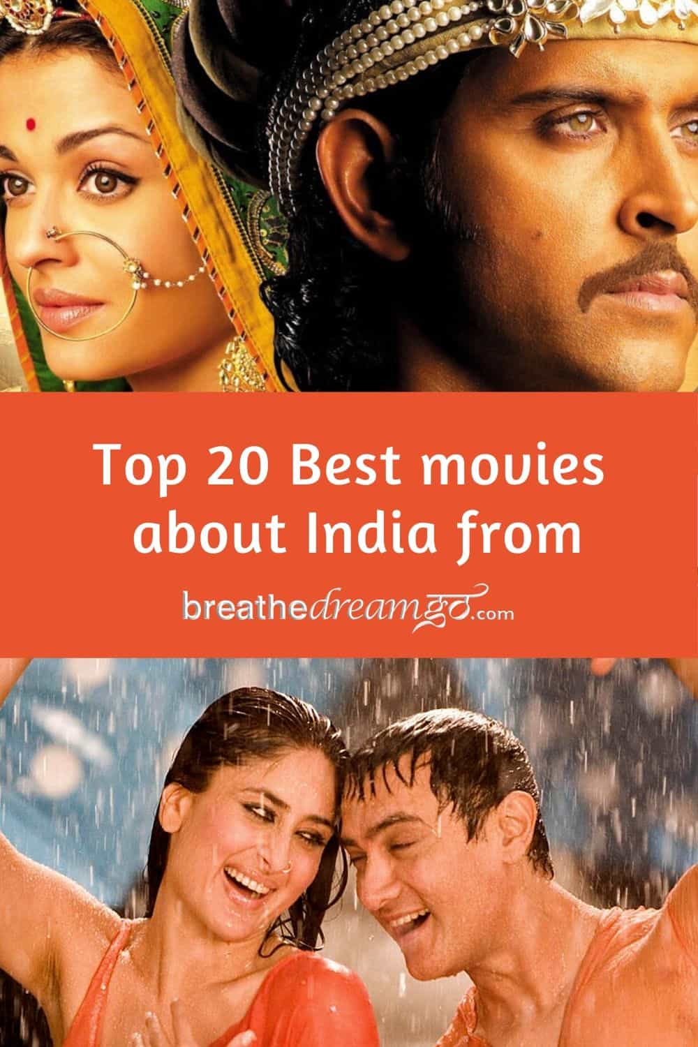 best movies about india pin