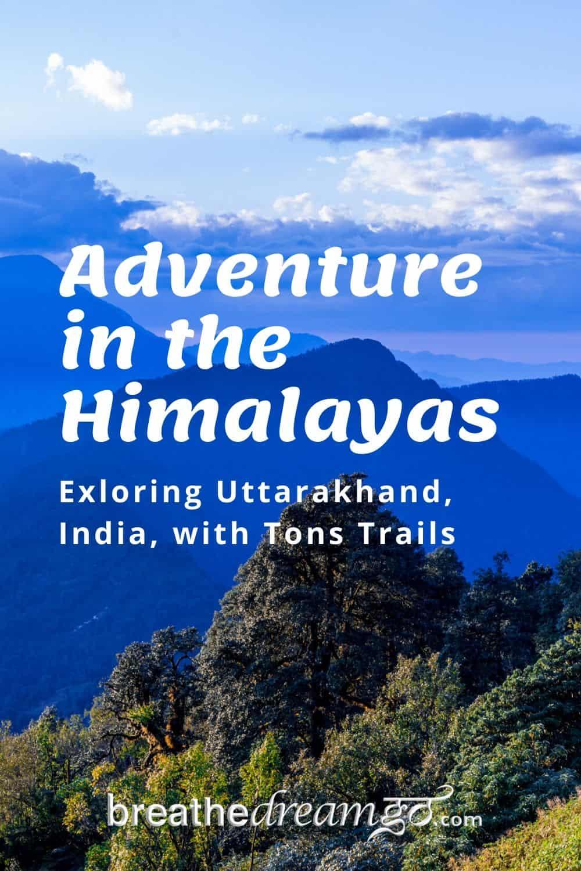 Himalayan mountains in India