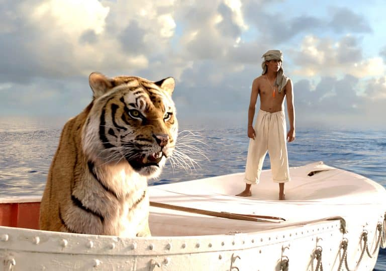 boy and tiger, Life of Pi poster