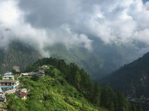 Himalayan village, Uttarakhand, India