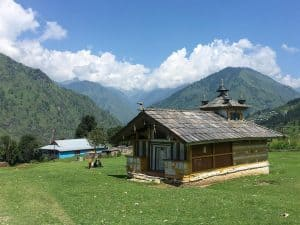 Shiva Temple in a village, Himalayas, Uttarakhand