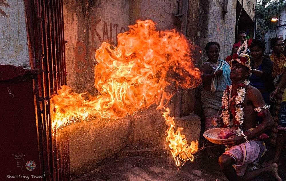 Charak Gajan ritual in India
