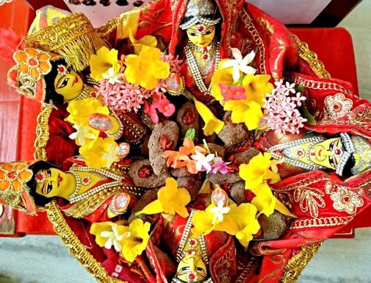 Gangaur Puja ritual in India