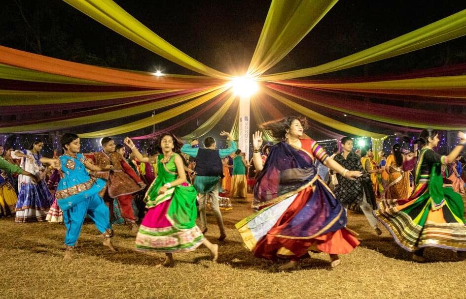Navratri in Gujarat dance as prayer