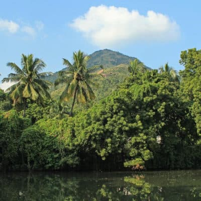 Tiruvannamalai Mount Arunachala reflection 2