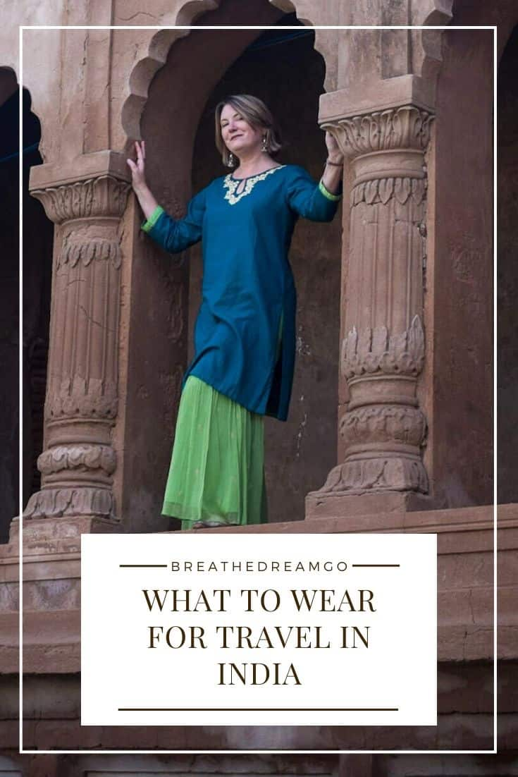 What to wear when travelling in India: My top tips