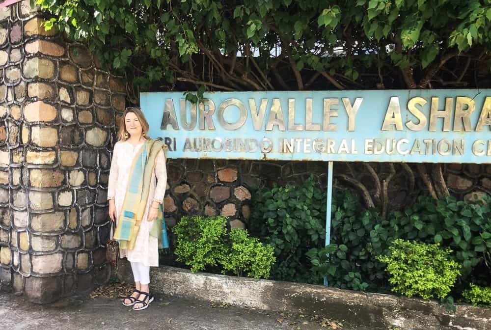Mariellen Ward at Aurovalley Ashram