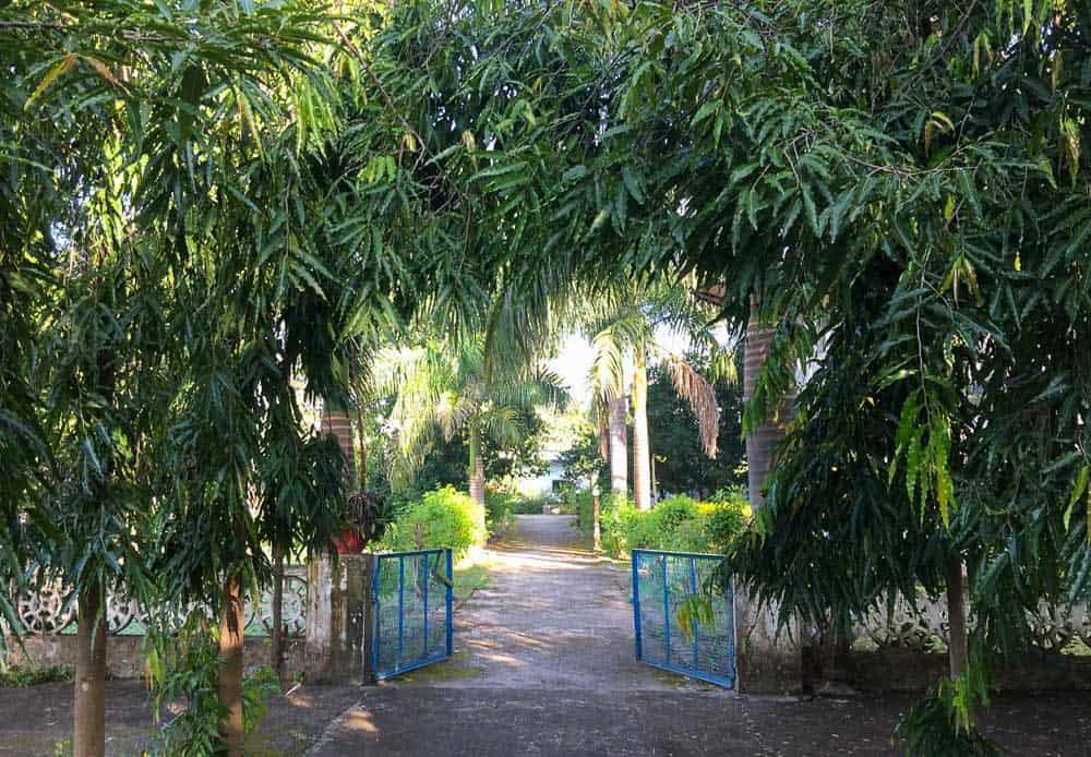 Aurovalley Ashram gates