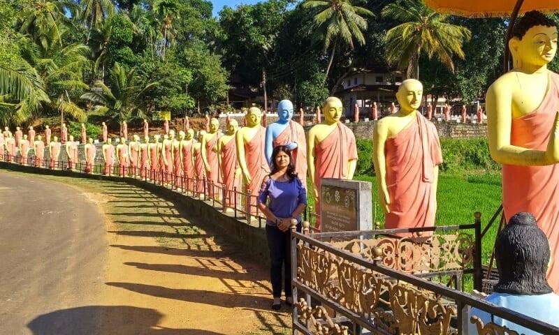Mindful traveller Ansoo Gupta in Sri Lanka
