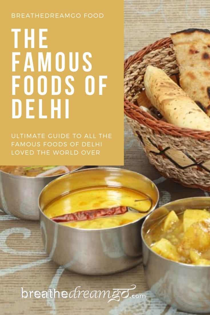 Indian food from Delhi