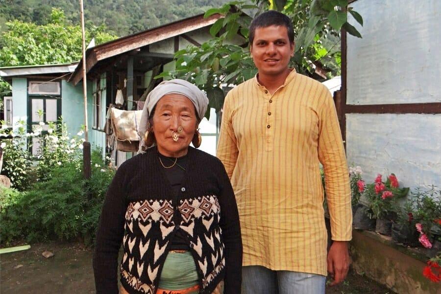 Mindful traveller Gaurav in India
