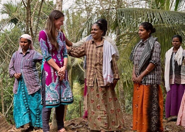 Mindful traveller Ellie in Kabani India