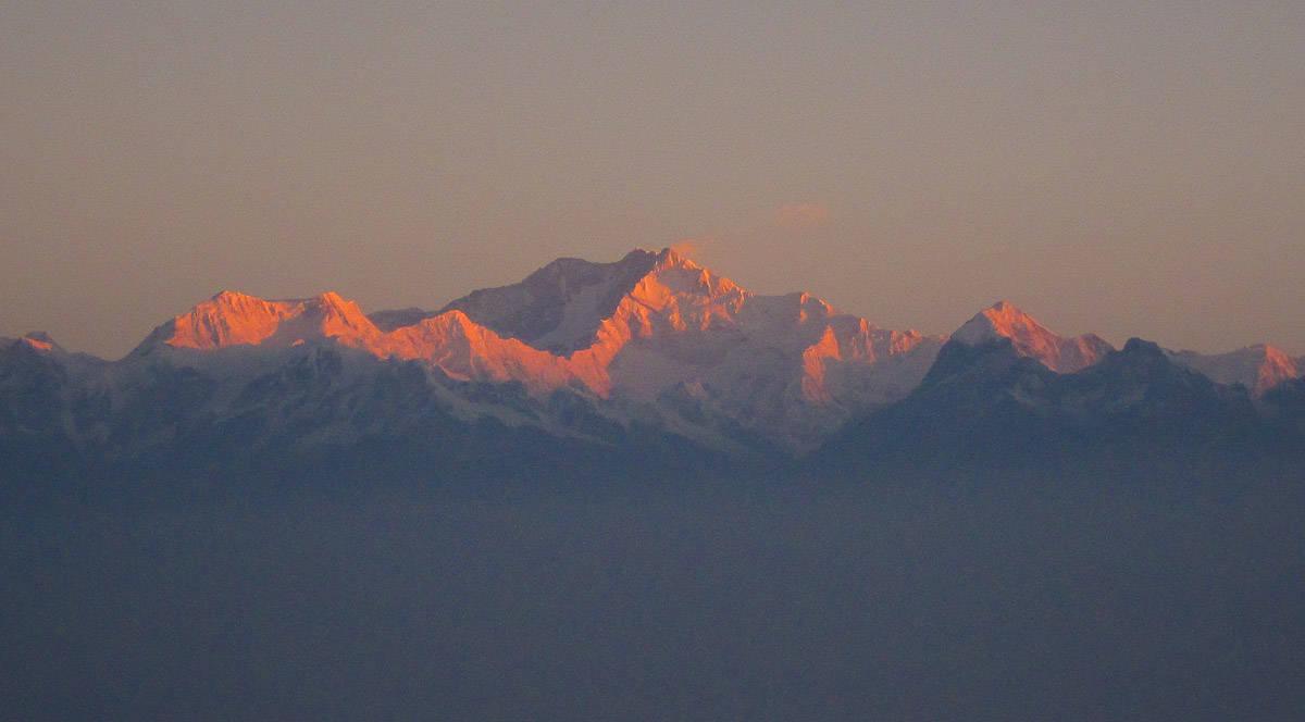 Darjeeling Kanchenjunga sunrise