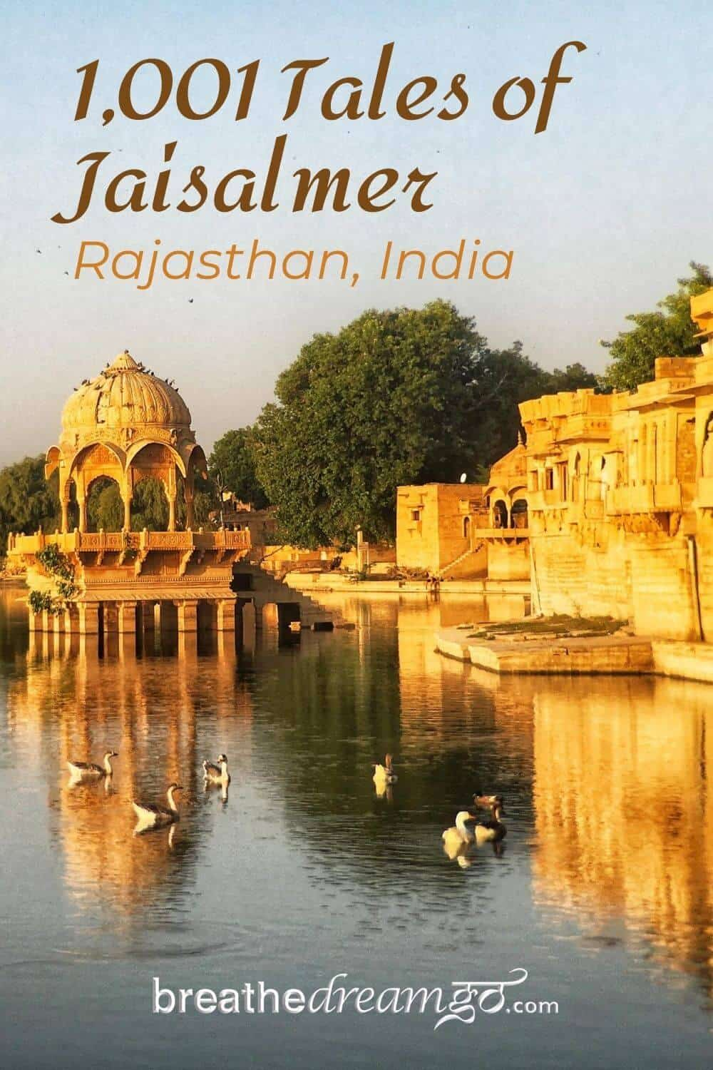Tales of Jaisalmer, Rajasthan, India