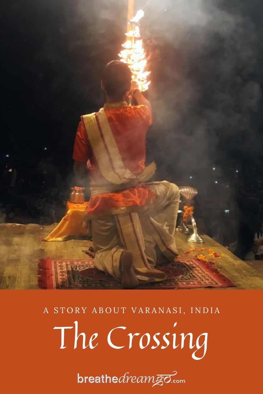 Aarti in Varanasi, India