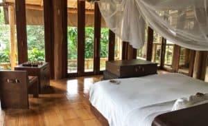 bedroom at Thailand resort Soneva Kiri
