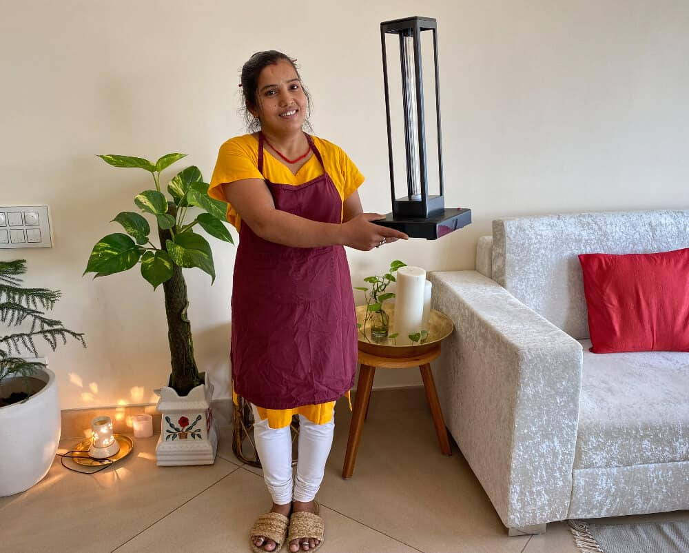 Kavita at Ayurveda Homestay in Rishikesh