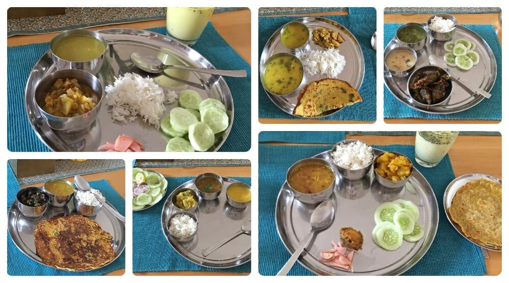 food at Ayurveda homestay in Rishikesh