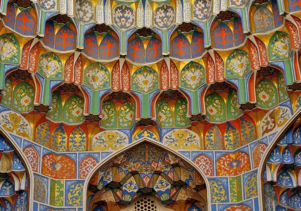 Adbulaziz Khan Madrassa, Bukhara, Uzbekistan