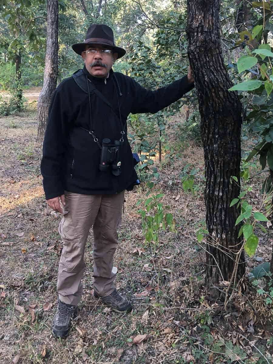 Kartikeya Singh in Satpura Tiger Reserve