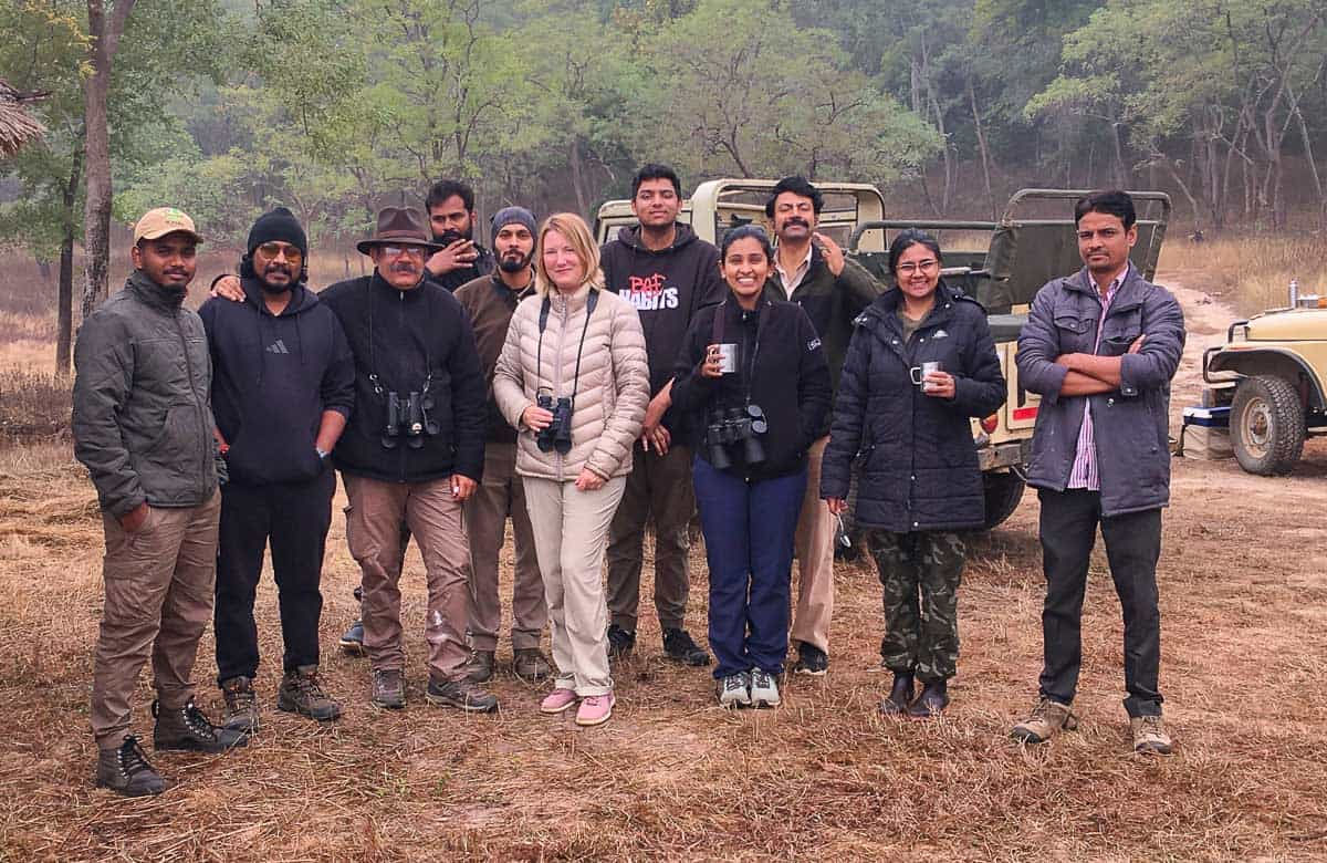 Naturalist training course group