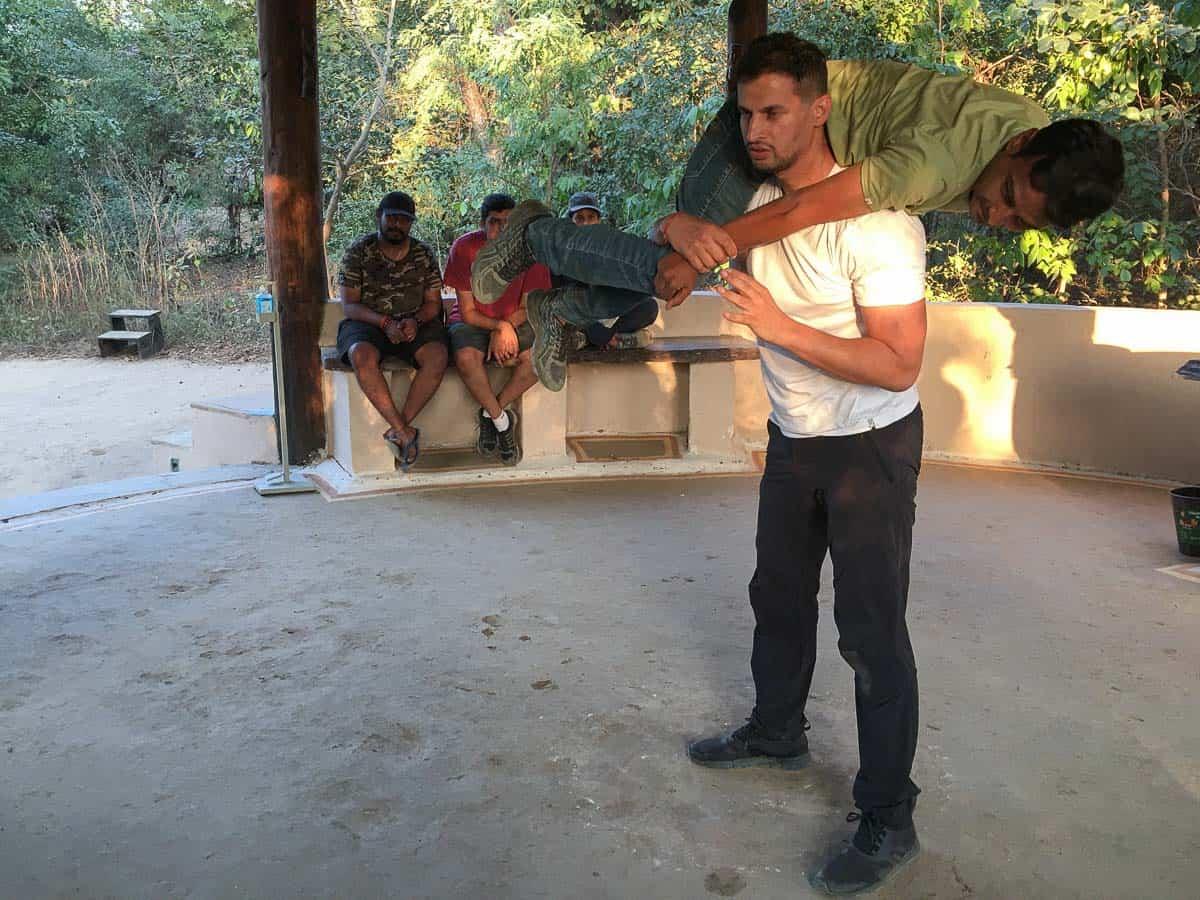 teacher at Naturalist Training Course