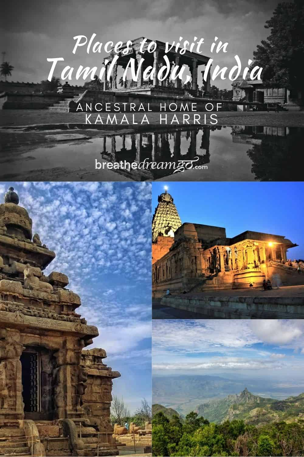 Places to visit in Tamil Nadu, India