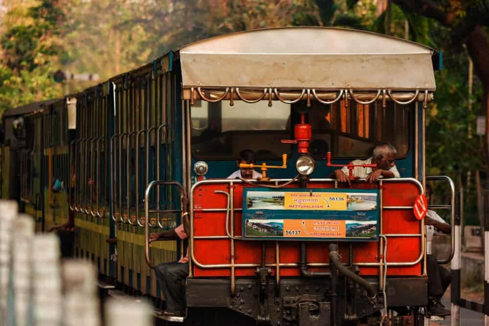 Toy train to Ooty, Tamil Nadu