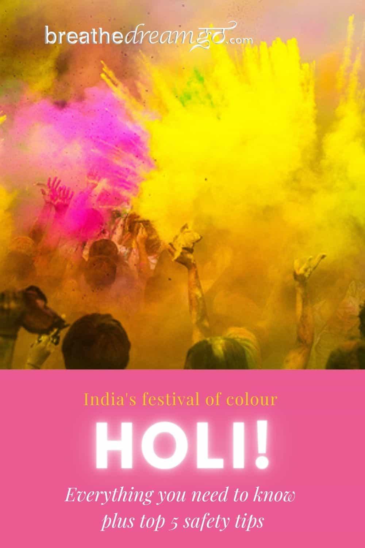 Holi, India's festival of colour