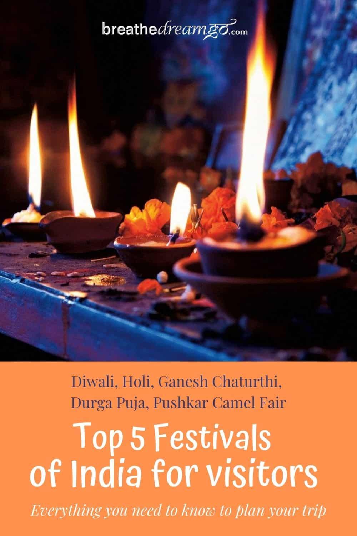 Top 5 festivals of India