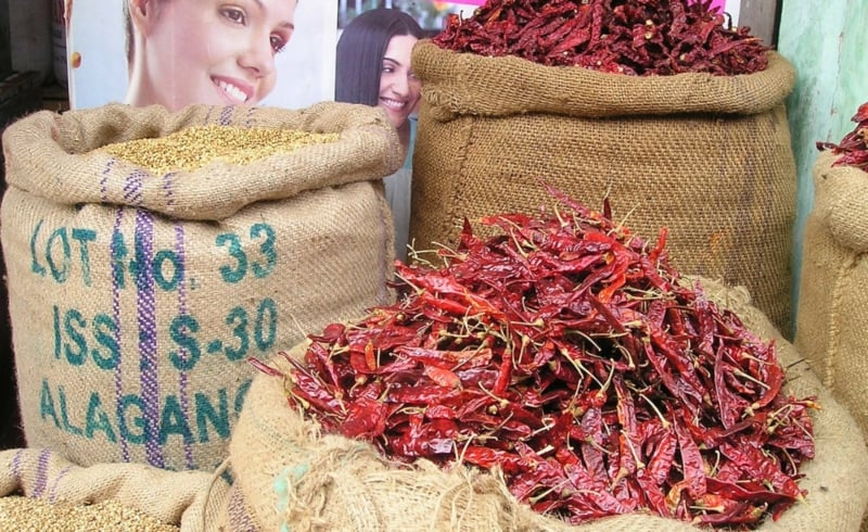Chillies are popular in India