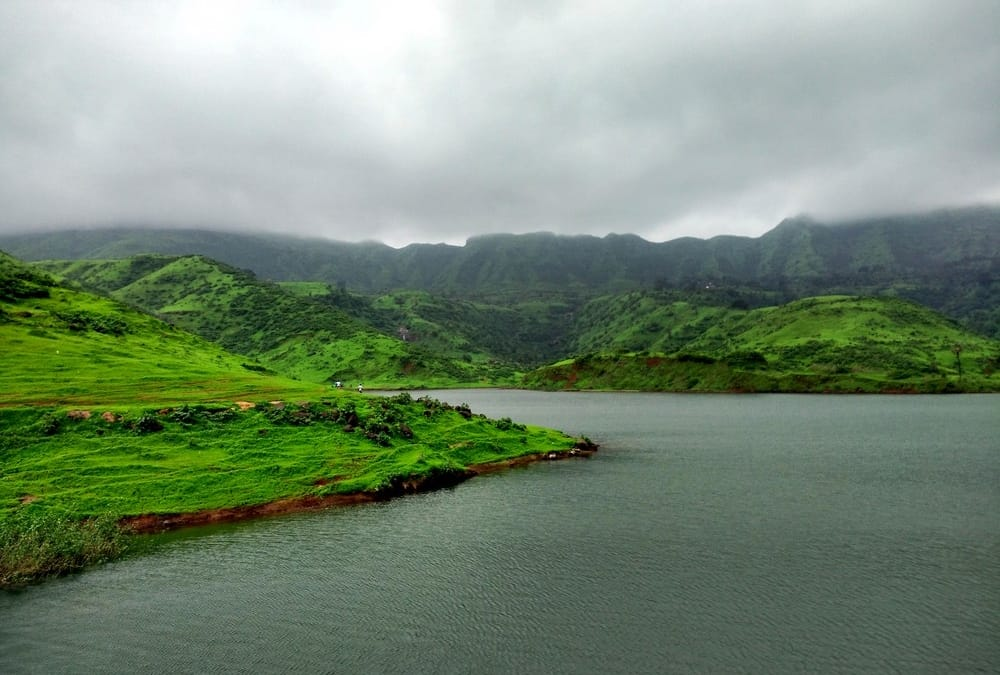 Western ghats in monsoon, India