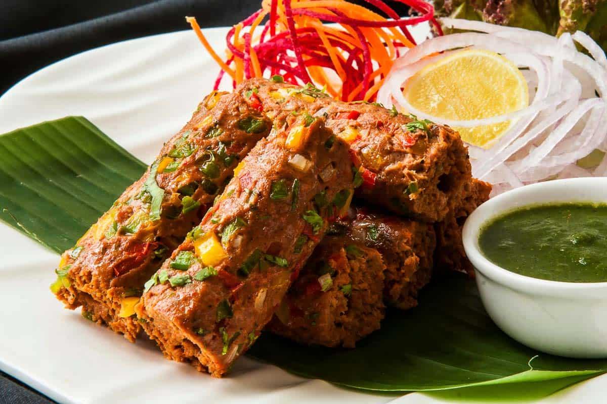 kebabs, a street food of India