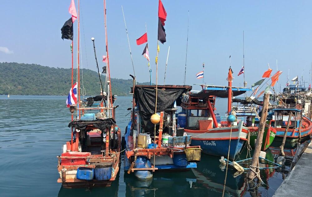 Ao Salat fishing village, Koh Kood, Thailand