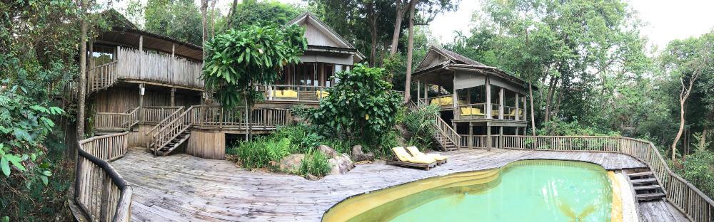 Bay View pool villa at Soneva Kiri, Thailand