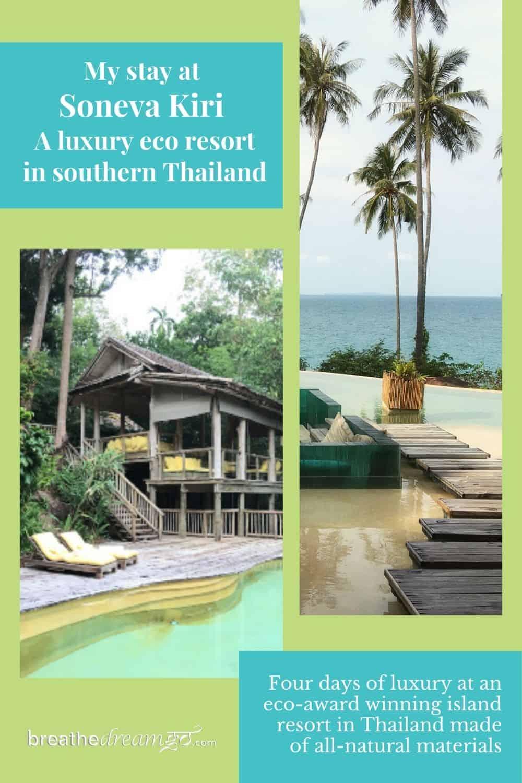 Eco luxury at Soneva Kiri in Thailand