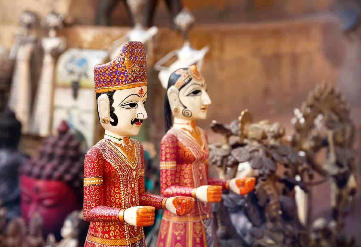 market bazaar in Jaipur, Rajasthan