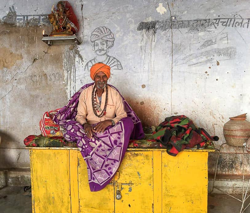 Sadhu in Pushkar, Rajasthan.