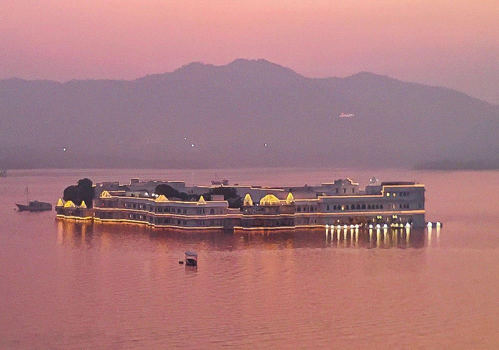 Udaipur sunset Rajasthan